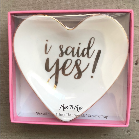 Other - Ring Dish! #isaidyes